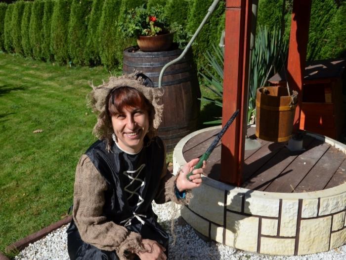 Čarodějka a její magická studna